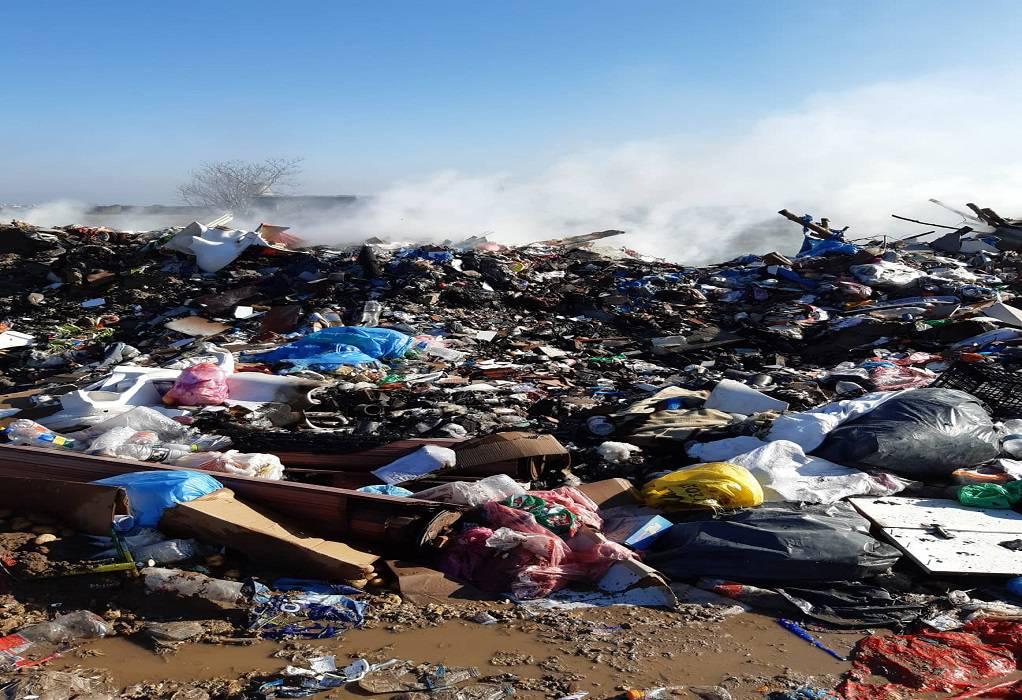 Δήμος Δέλτα: Αποκομιδή ογκωδών μετά την πυρκαγιά