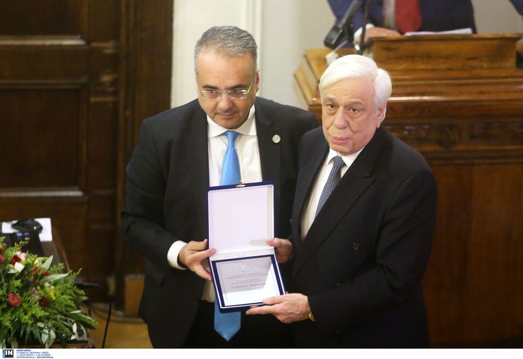 Παυλόπουλος για Γλυπτά Παρθενώνα: Δίκαιος ο αγώνας για την επιστροφή τους