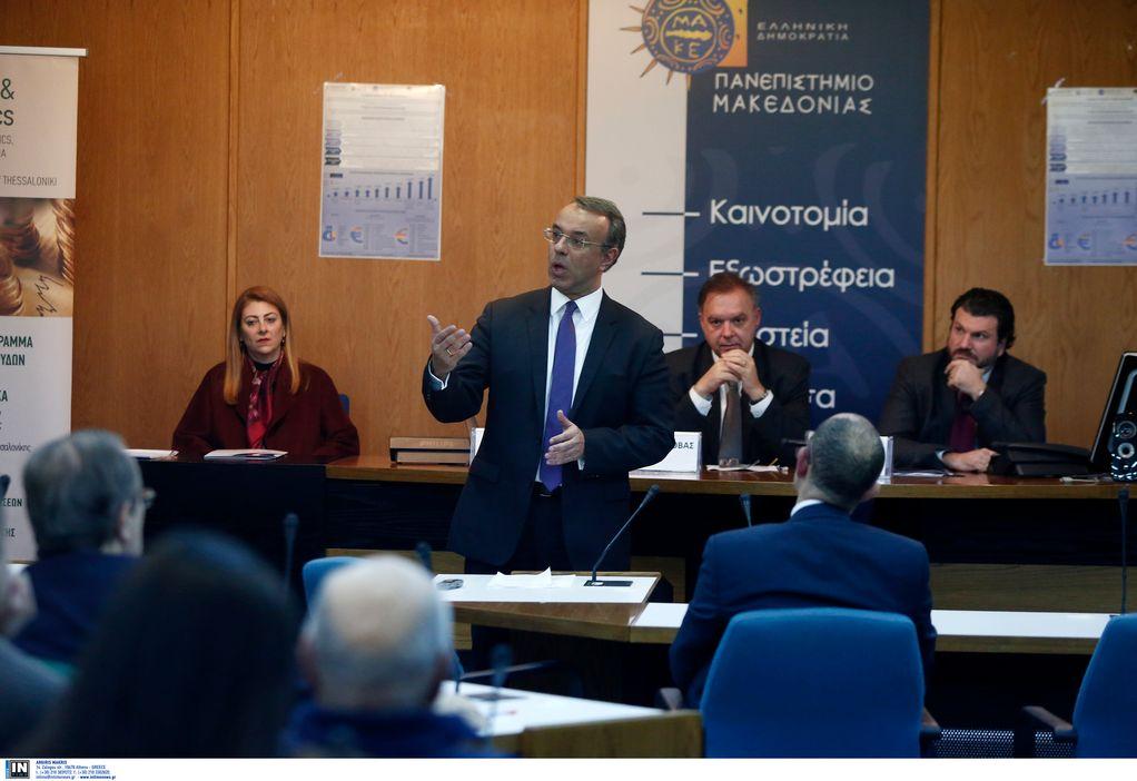 Σταϊκούρας: Έρχονται οι διατάξεις για την φοροδιαφυγή