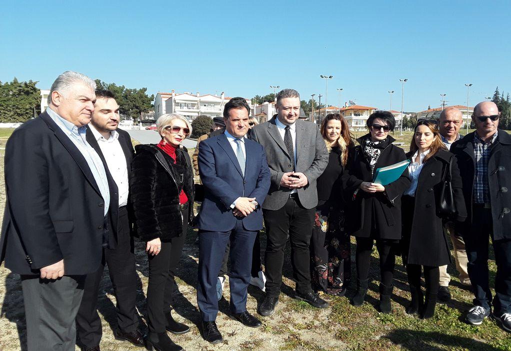 Γεωργιάδης: Τοπόσημο του Ωραιοκάστρου τα «Αλώνια»