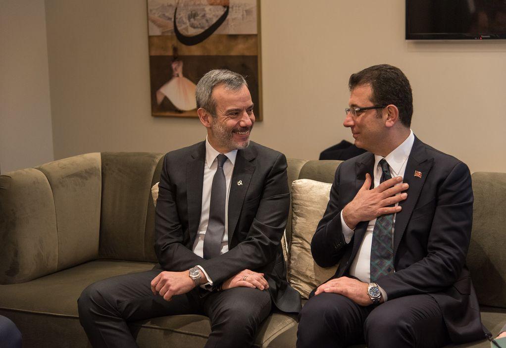 Συνάντηση Ζέρβα με δήμαρχο Κωνσταντινούπολης – Τι συζήτησαν (ΦΩΤΟ)