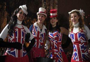 Brexit: Γιορτάζουν την έξοδο οι Βρετανοί (ΦΩΤΟ+VIDEO)