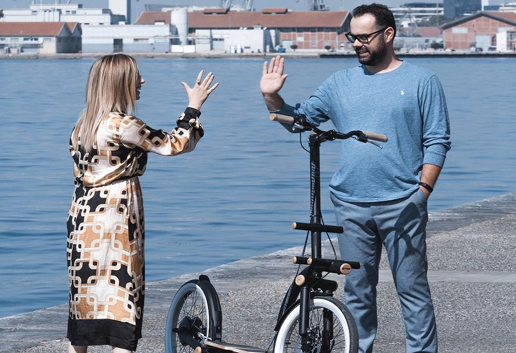 Elektronio: Το ηλεκτρικό ποδήλατο στα φόρτε του (ΦΩΤΟ-VIDEO)