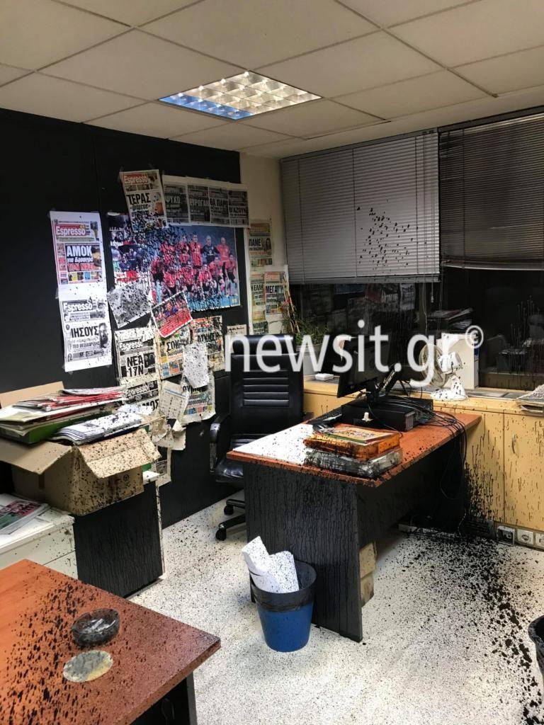 Ρουβίκωνας: Ανάληψη ευθύνης για τη «Δημοκρατία»