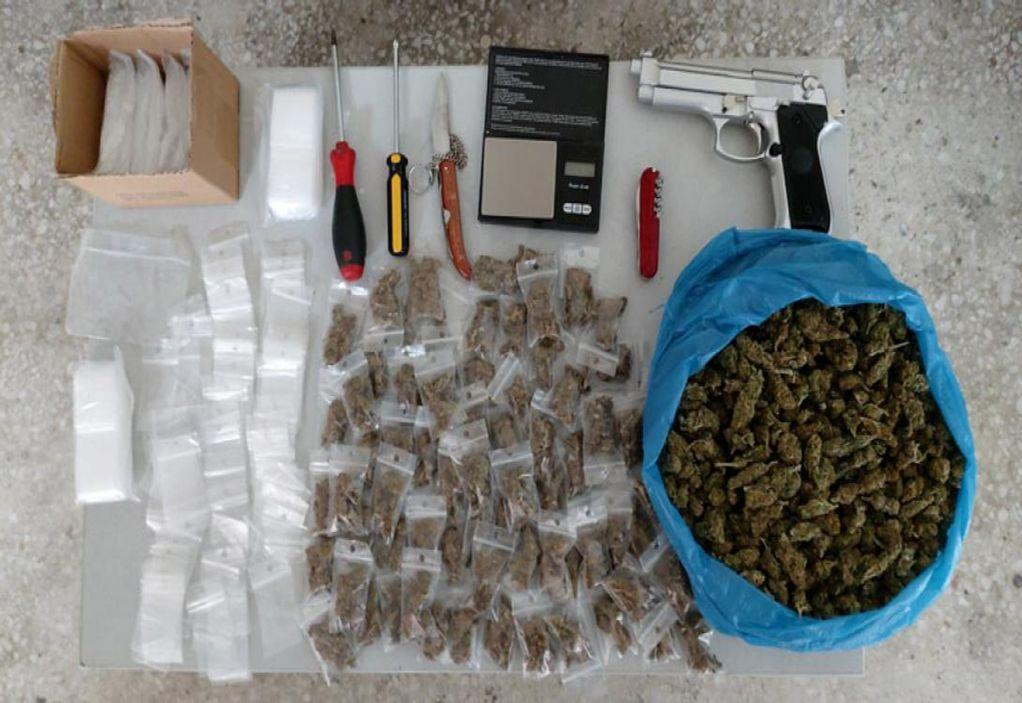 Ληστείες και διακίνηση ναρκωτικών: Χειροπέδες σε συμμορία