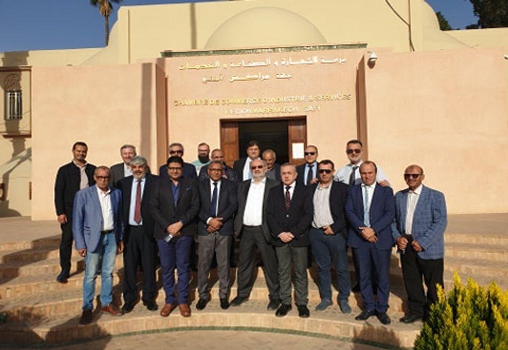 Ε.Ε.Θ.: Συνάντηση με το Εμπορικό και Βιομηχανικό Επιμελητήριο του Μαρόκο