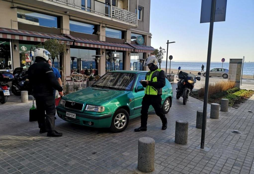 Θεσσαλονίκη: Ανέβασε «γκάζια» η δημοτική αστυνομία
