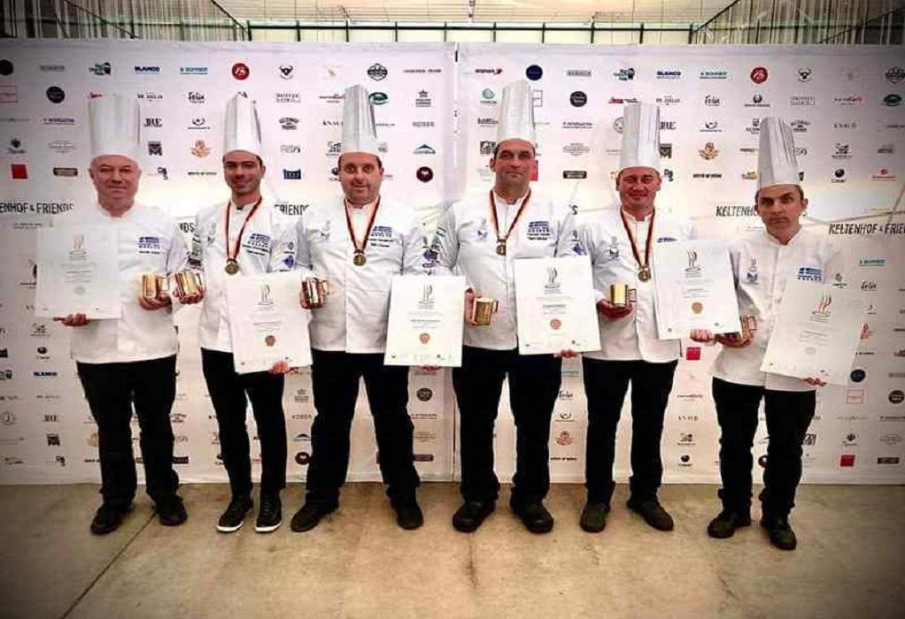 «Χάλκινη» η ελληνική ομάδα στους Ολυμπιακούς Αγώνες Μαγειρικής