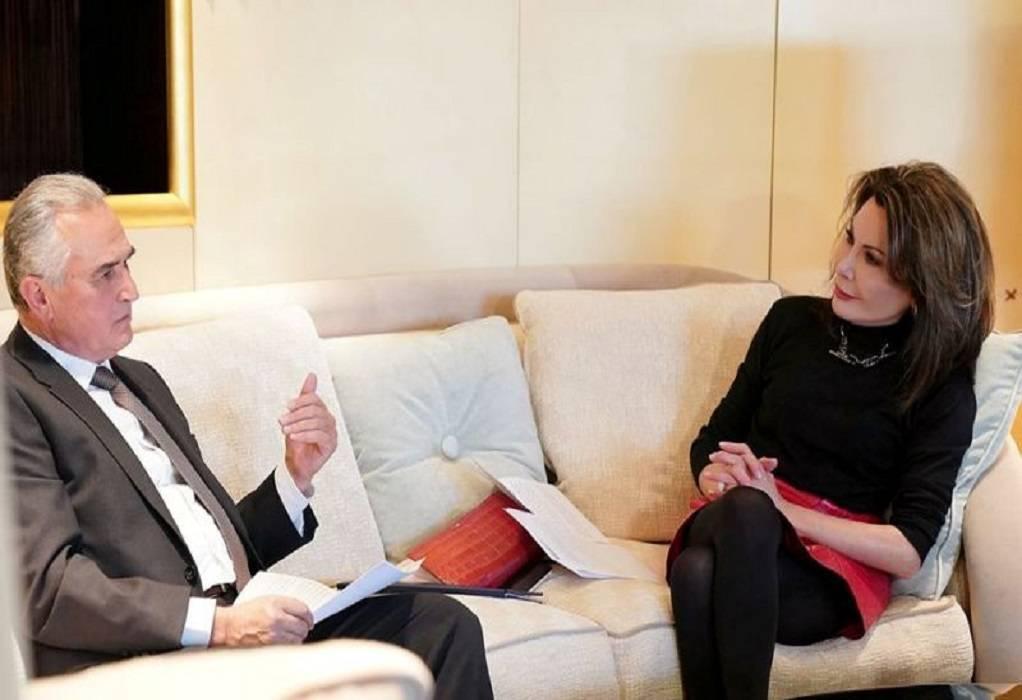 Σ. Ανασταιάδης: Συνάντηση με Γ. Αγγελοπούλου για το 2021