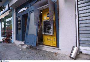 Ανατίναξαν ATM στην Ευκαρπία (ΦΩΤΟ)
