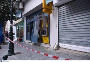 Θεσσαλονίκη: Έκρηξη τα χαράματα σε ΑΤΜ