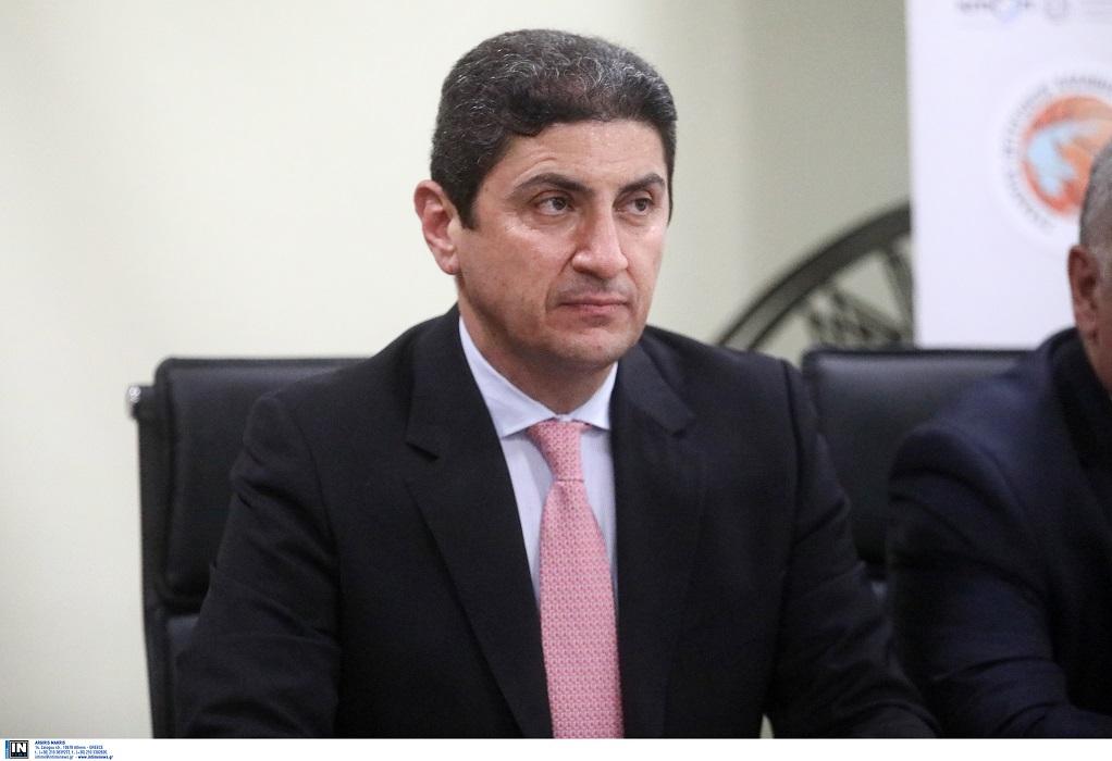 Αυγενάκης: Συγχαίρει την αθλητική οικογένεια για τις δωρεές