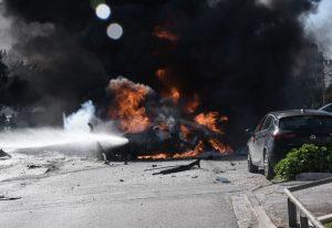 Τυμπάκι: Στις φλόγες ΙΧ τα ξημερώματα
