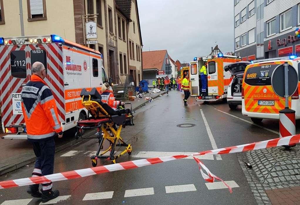 Γερμανία: Συνελήφθη ο οδηγός του αυτοκινήτου