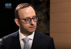 Γρ. Δημητριάδης: Οικονομική Διπλωματία με partner τις επιχειρήσεις (video)