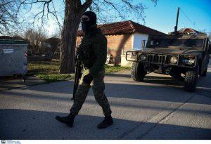 Έβρος: Ενίσχυση των συνόρων με 600 στρατιώτες