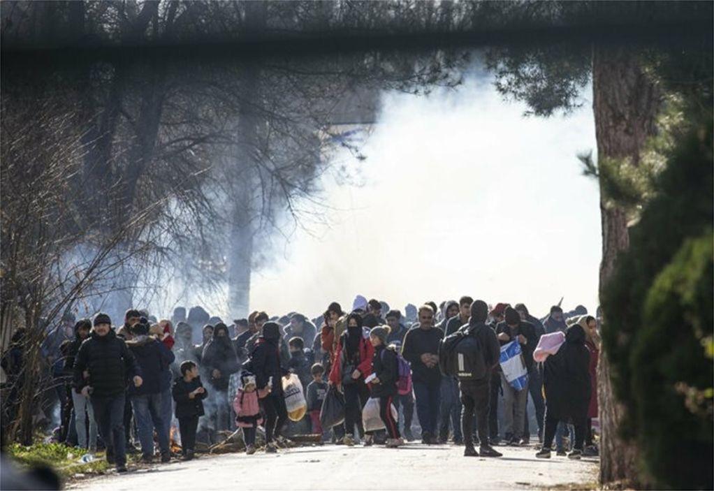 Ντοκουμέντο από την επίθεση σε συνοριοφύλακες στον Έβρο (VIDEO)