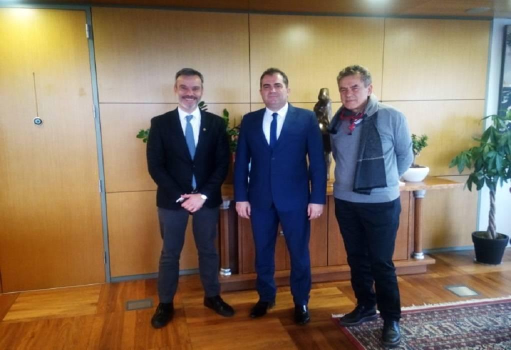 Ζητήματα κοινού ενδιαφέροντος στη συνάντηση Ζέρβα με Δήμαρχο Καλαμάτας