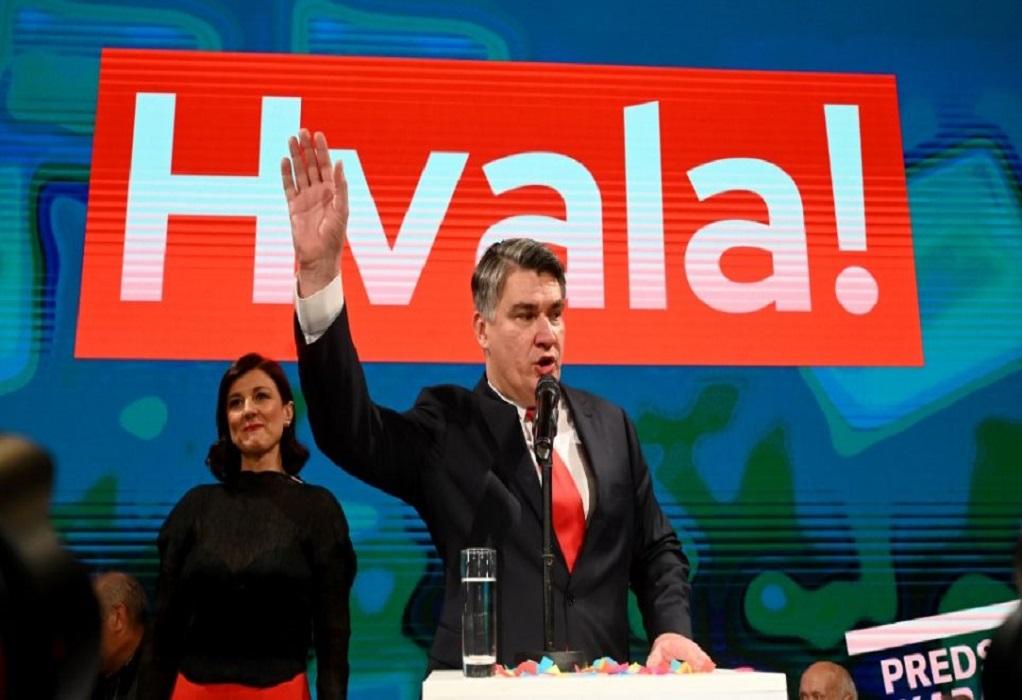 Κροατία: Ο Ζόραν Μιλάνοβιτς νέος πρόεδρος