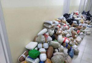 Ιωάννινα: Πάνω από 790 κιλά ινδικής κάνναβης σε φορτηγό (ΦΩΤΟ)