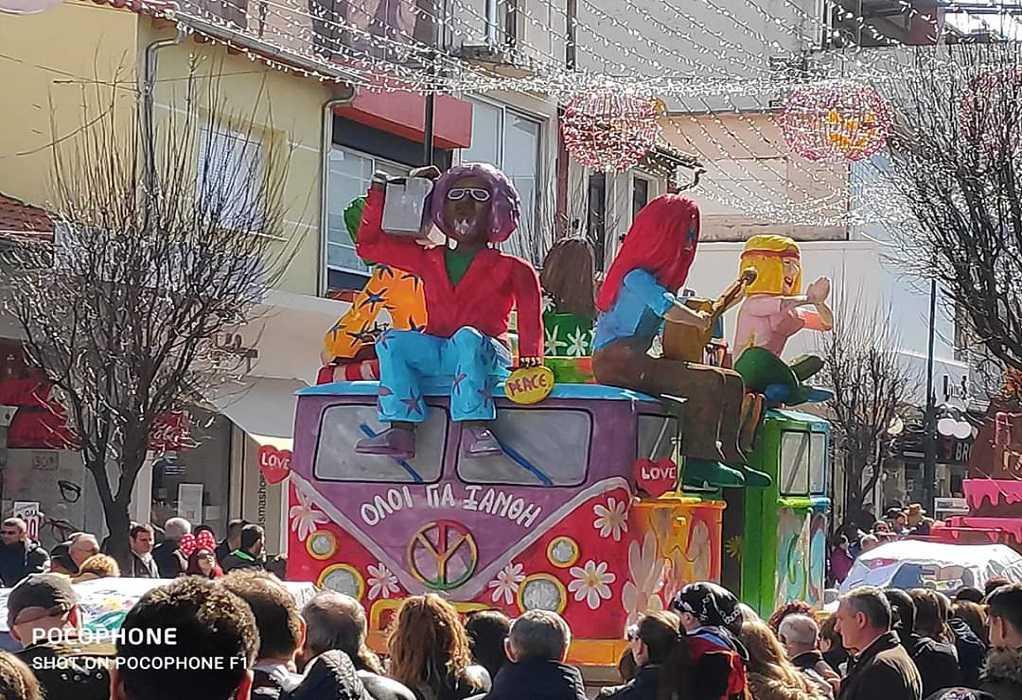 Ξάνθη: Έσπασε κάθε ρεκόρ η παιδική καρναβαλική παρέλαση