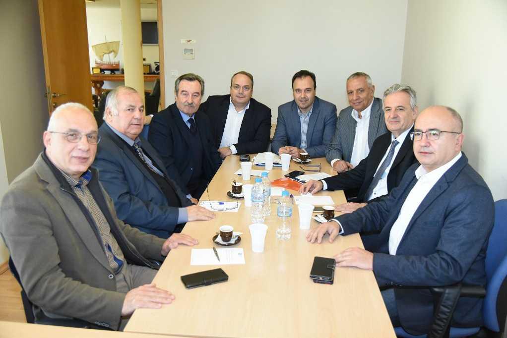 Συνάντηση του Προέδρου της ΚΕΔΕ με την Ένωση Δημάρχων Αττικής