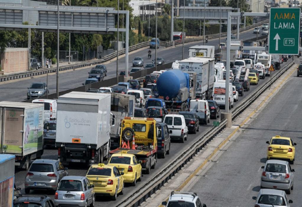 Αθήνα: Τροχαίο στον Κηφισό- Ουρές χιλιομέτρων