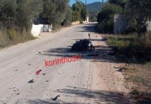Κόρινθος: Νεκρός οδηγός μοτοσικλέτας σε τροχαίο