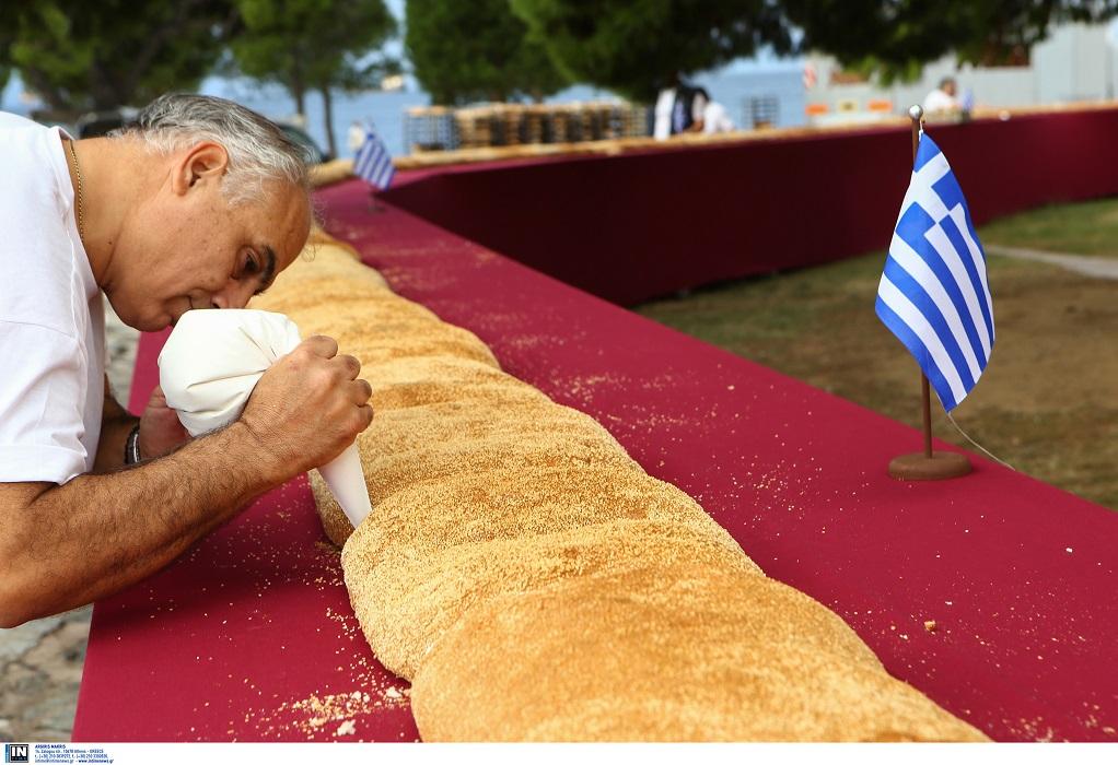 Βράβευση του Σωματείου Αρτοποιών για το Κουλούρι Θεσσαλονίκης