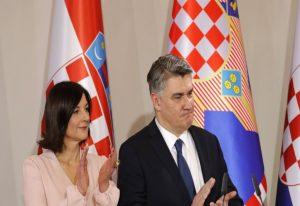 Ορκίστηκε ο νέος πρόεδρος της Κροατίας