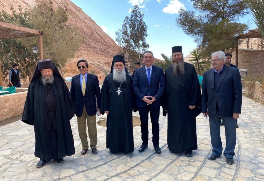 Κ.Βλάσης: Η Ιερά Μονή Σινά, φάρος του Ελληνισμού