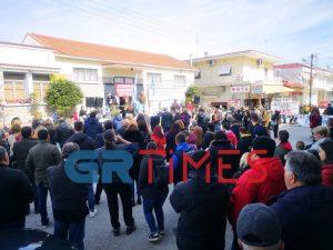 Μακρύγιαλος: Ολοκληρώθηκε το συλλαλητήριο κατά του ξενώνα προσφύγων