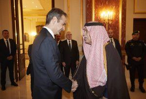 Τι ζήτησαν οι Σαουδάραβες από τον Κ. Μητσοτάκη