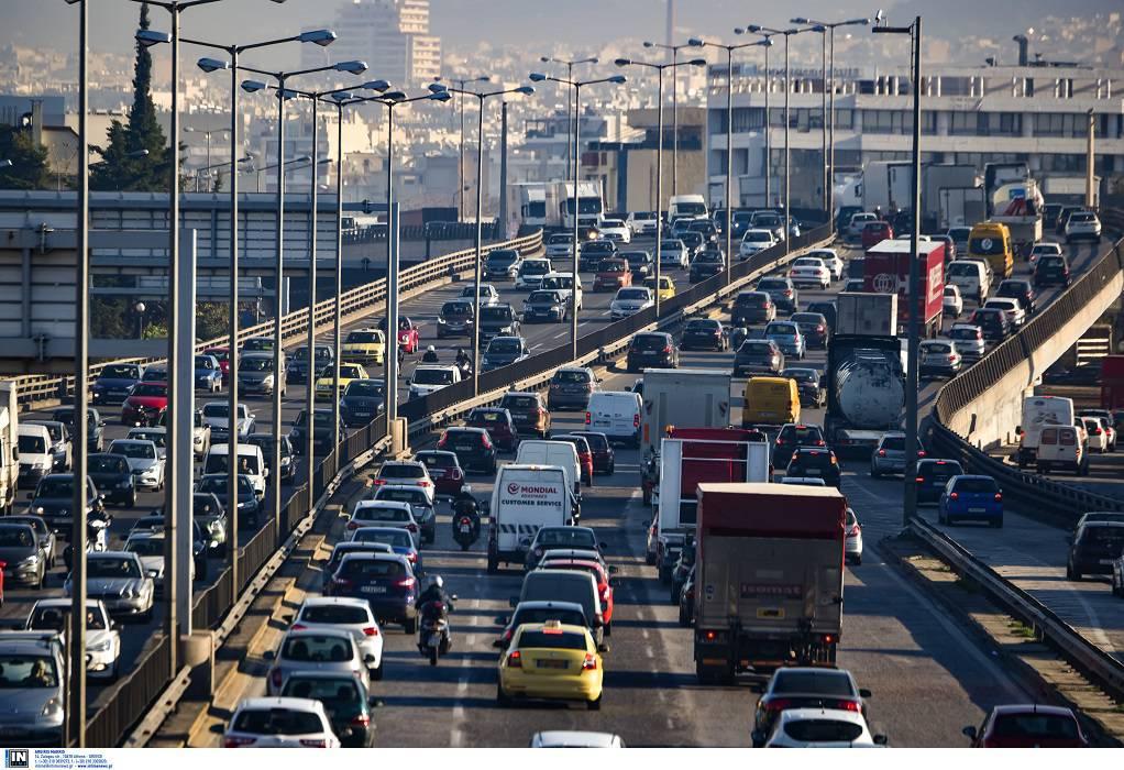 Αθήνα: Κυκλοφοριακό χάος λόγω της απεργίας