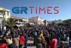 Μεταναστευτικό: Επεισόδια στο λιμάνι της Μυτιλήνης