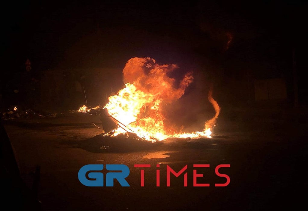 Νύχτα κόλαση στη Μυτιλήνη (ΦΩΤΟ-VIDEO)
