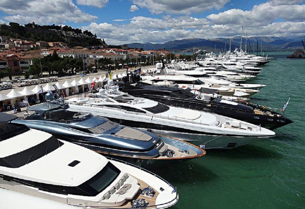 Στο Ναύπλιο και φέτος το 7o Mediterranean Yacht Show