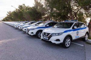 Ένταξη 195 νέων οχημάτων στον στόλο της ΕΛΑΣ