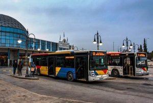 Θεσσαλονίκη: Χωρίς λεωφορεία αύριο Δευτέρα για τέσσερις ώρες