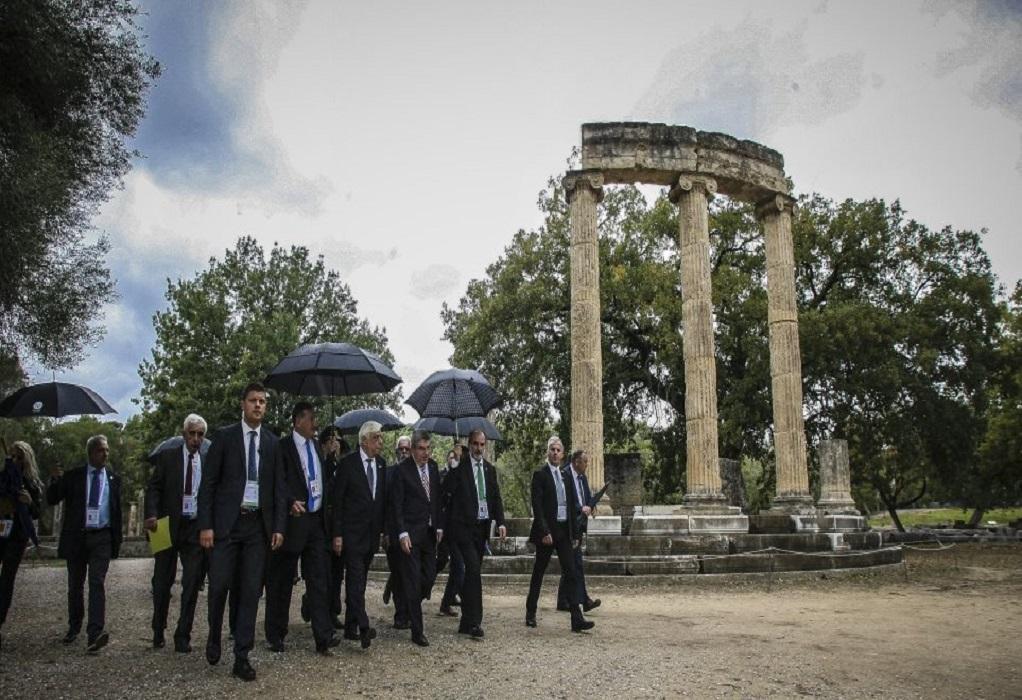 Ιστορική απόφαση ΕΟΕ: Ανακαίνιση εγκαταστάσεων στην Αρχαία Ολυμπία