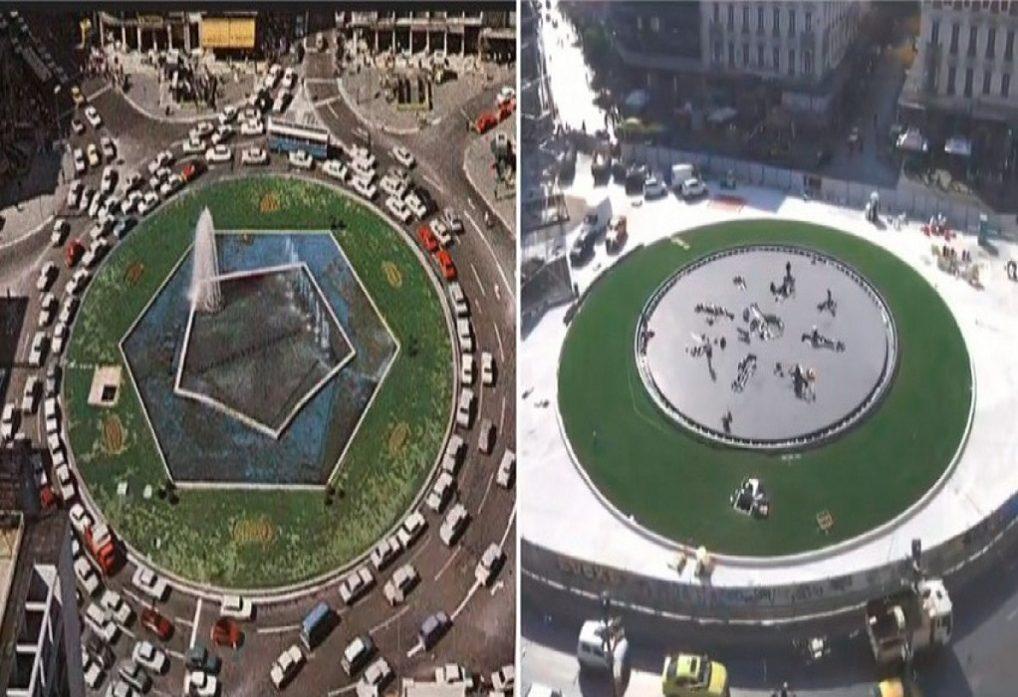 Αθήνα: Στο «φως» η νέα πλατεία Ομονοίας