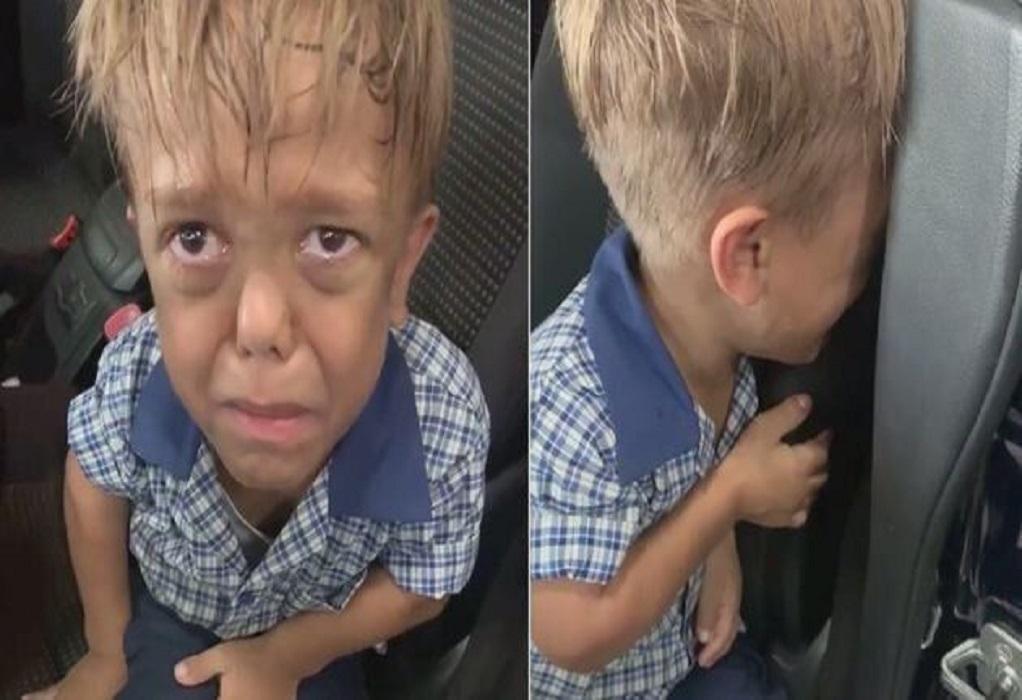 Εννιάχρονο αγόρι κλαίει σπαρακτικά λόγω bullying στο σχολείο(ΒΙΝΤΕΟ)