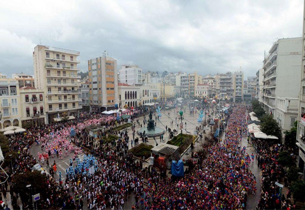 Καρναβάλι στην Πάτρα: Χιλιάδες παιδιά στις παρελάσεις