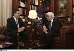 Με τον Πρ. Παυλόπουλο συναντήθηκε ο Απ. Τζιτζικώστας