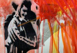 """Ζωγραφική: """"Ξεριζωμοί ΙΙ"""" στο Γαλλικό Ινστιτούτο Θεσ/νίκης"""