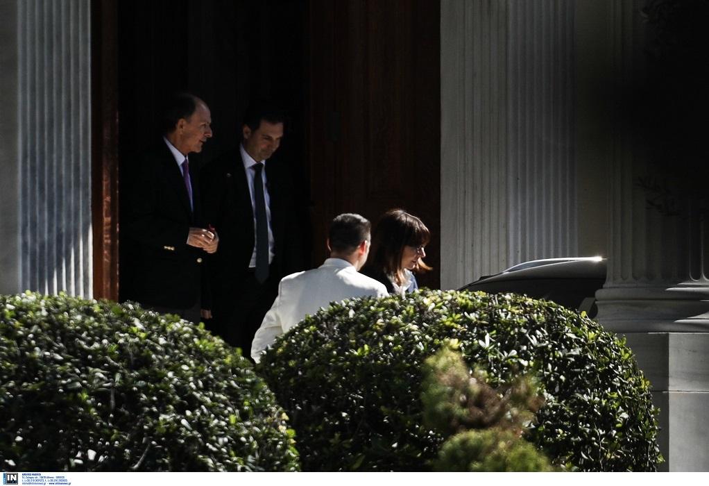 Στο Προεδρικό Μέγαρο η Σακελλαροπούλου