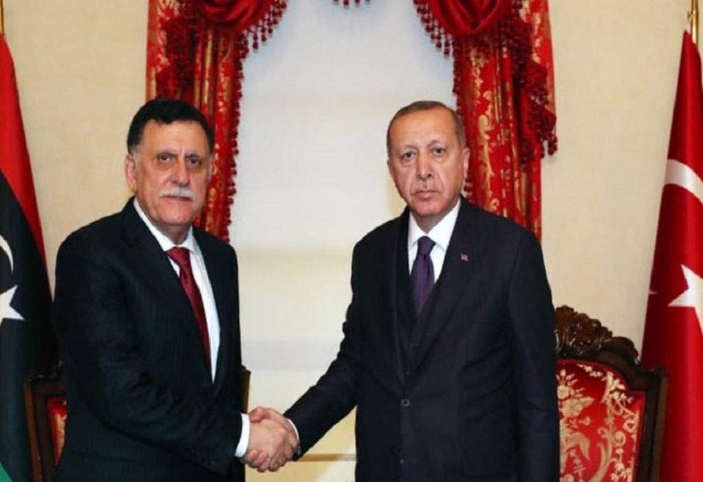 Έκτακτη συνάντηση Ερντογάν-Σάρατζ