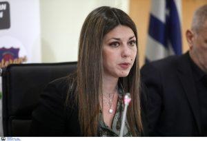 Ζαχαράκη: Η κατάληψη δεν είναι η λύση