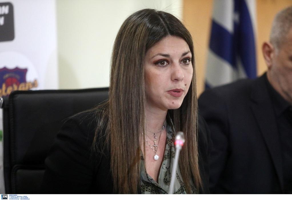 Ζαχαράκη: Μέριμνα της κυβέρνησης η στήριξη των τουριστικών επιχειρήσεων