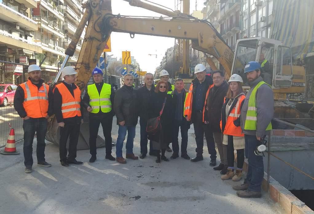 H διοίκηση του ΕΣΘ στα έργα του Μετρό Θεσσαλονίκης